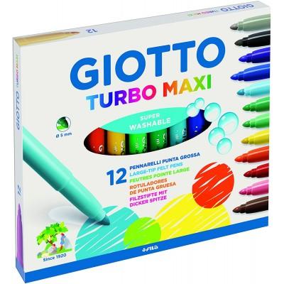 Pennarelli Giotto Turbo Maxi da 12 pz