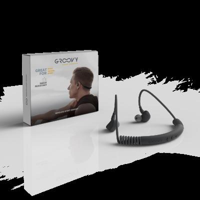 Auricolari Bluetooth Groovy WIRELESS SPORT HEADSET