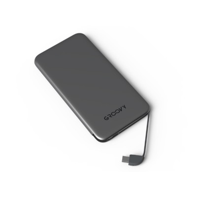 Power Bank GROOVY Micro Usb + Type-C