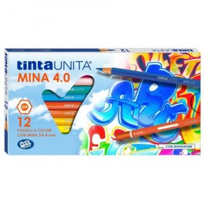 Pastelli Tinta Unita 4.0 da 12 pz