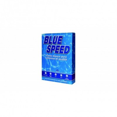 Carta Per Fotocopie A4 Blue Speed 500fg 75 gr Bianca
